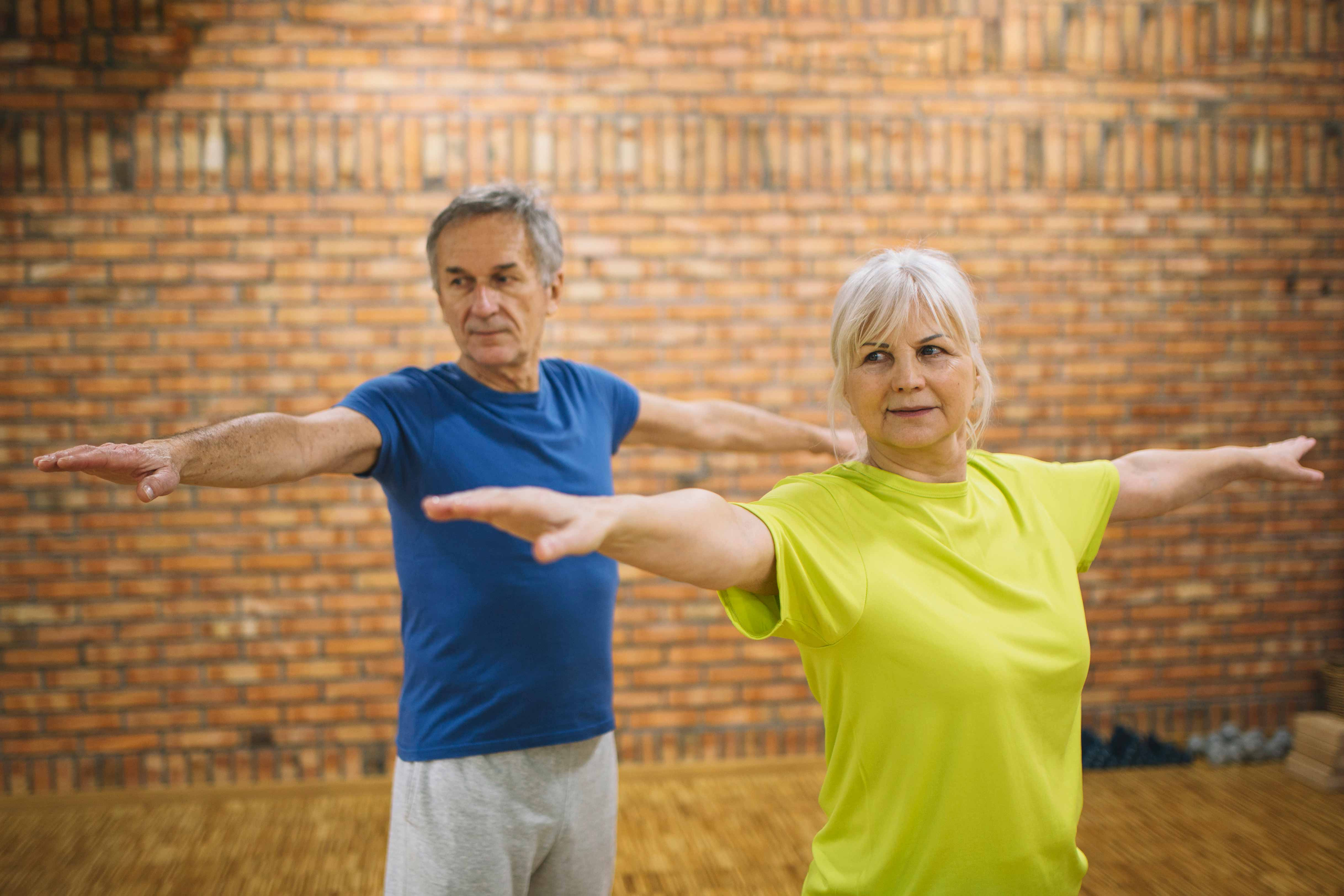 Exercises for balance training for people with Parkinson's disease