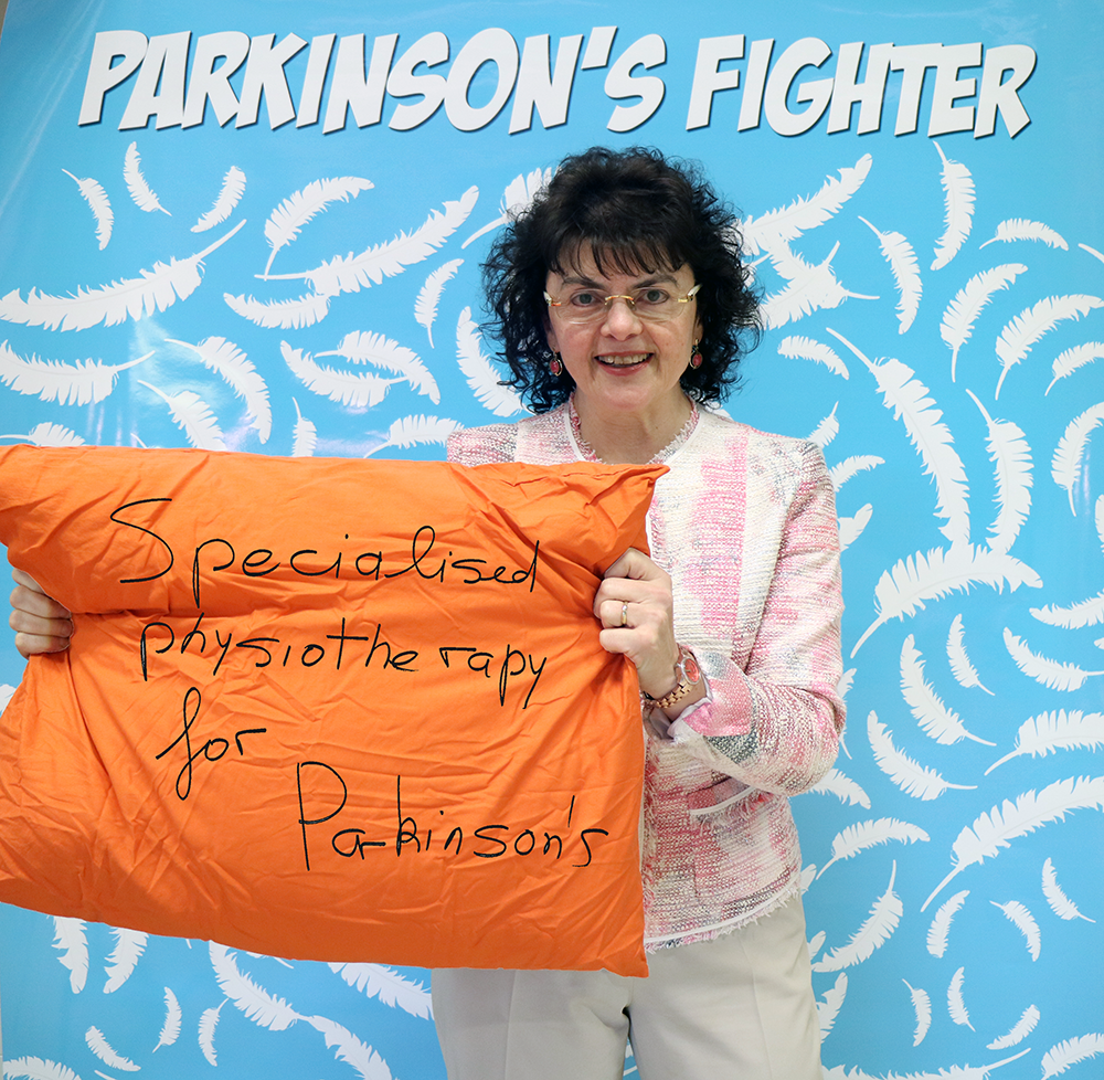 Parkinson's Fighter Mariella Phyiotherapist