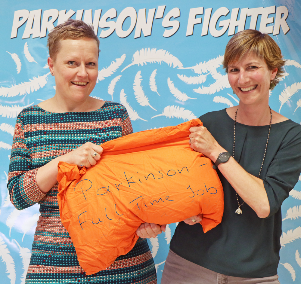 Parkinson's Fighter - Carole & Sylvia - Speech and language therapists