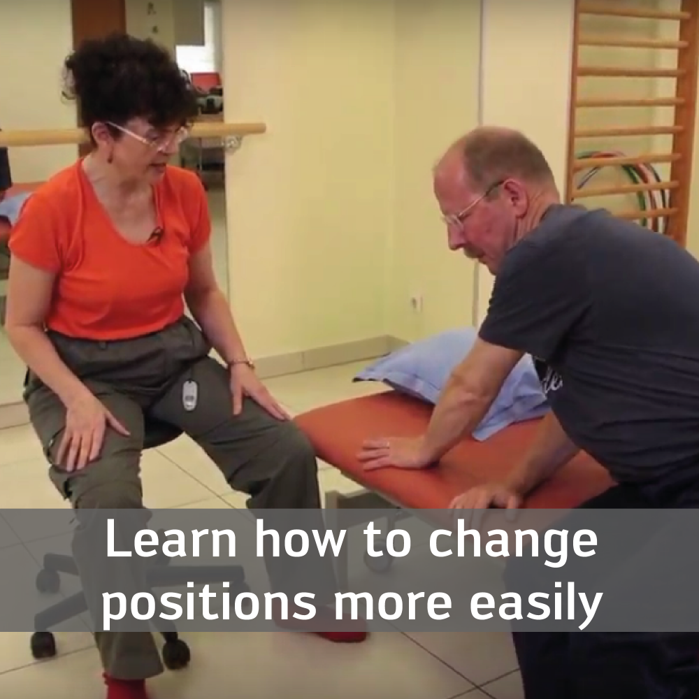 Learn how to change positions more easily