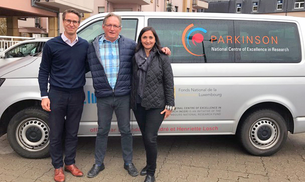 Meet the 600th patient recruited for the Luxembourg Parkinson Study