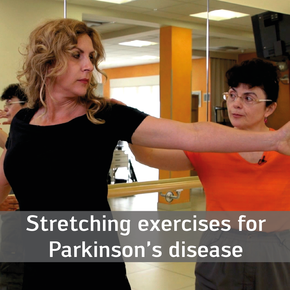 Stretching exercises for Parkinson's disease